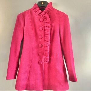 Tulle Pink Coat Medium
